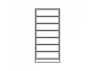Shelves < 1.8m