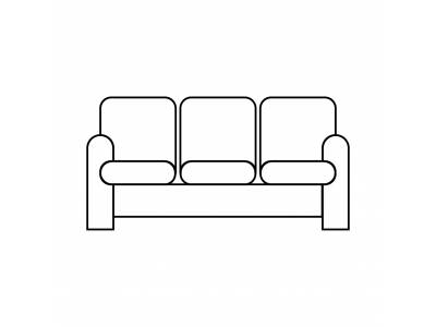 2/3 Seater Sofa > 2m